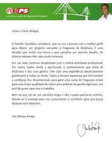 Candidato PS Alcantara